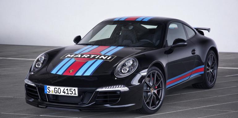 Porsche 911 Carrera S Martini Racing Edition black