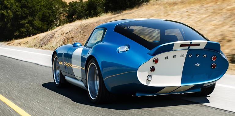 Renovo coupe - rear