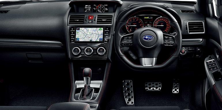 Subaru WRX S4 - interior