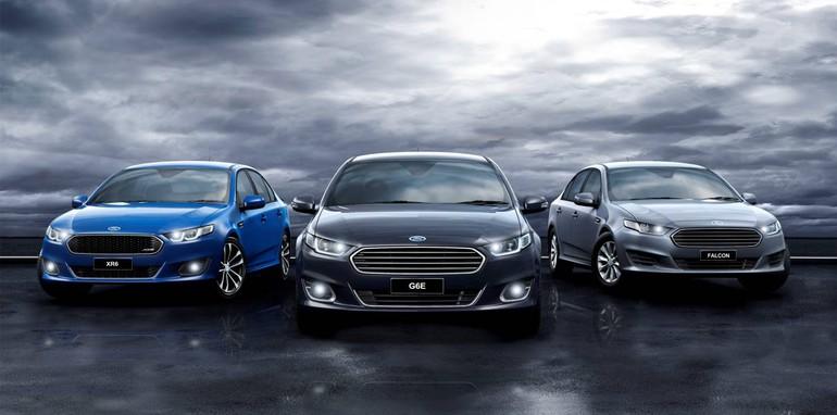 Ford Falcon pair
