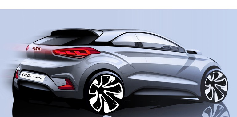 Hyundai-i20 Coupe sketch