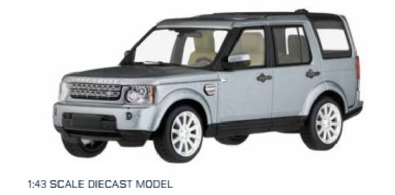 Land Rover Discovery Model