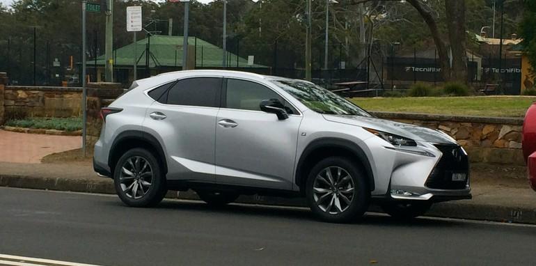 Lexus NX200t spotted in Sydney_21