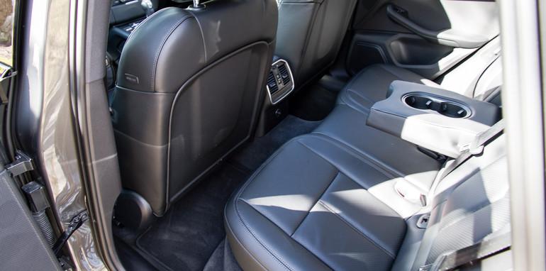 Porsche Macan rear seat