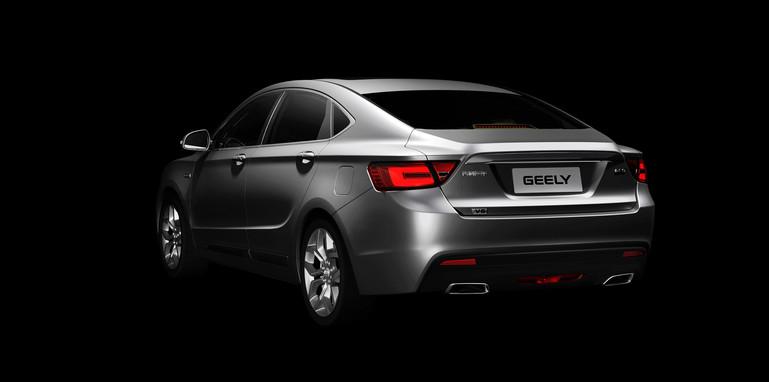 Geely GC9 - rear