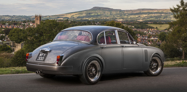 Jaguar Mark 2 restomod by Ian Callum and CMC - rear