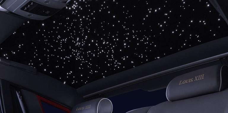Rolls-Royce Phantom Louis XIII - starlight ceiling