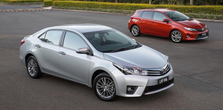 2014 Toyota Corolla Sedan ZR and Corolla Hatch Levin ZR