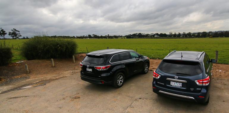 Nissan-Pathfinder-Hybrid-v-Toyota-Kluger-40