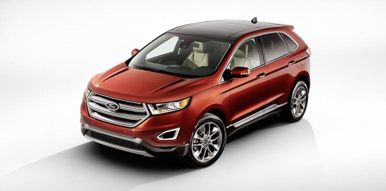Compact Suv Australia >> Ford Edge :: Diesel-powered Territory successor revealed