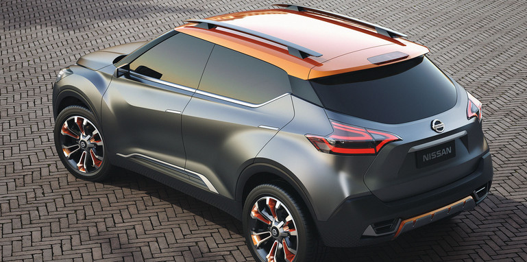 Nissan Kicks Concept - roof