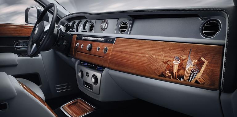 Rolls-Royce Phantom Metropolitan Collection - dashboard