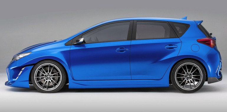 scion im concept previews new corolla based sports hatch. Black Bedroom Furniture Sets. Home Design Ideas