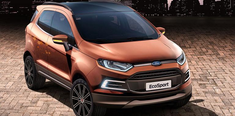 EcoSport Beauty Show Car