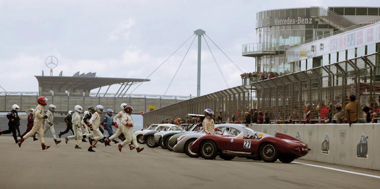 Nurburgring race start