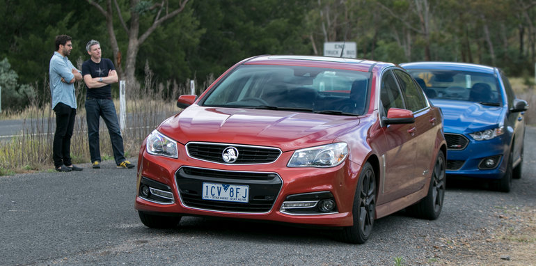 Holden Commodore SS Ford Falcon XR8-30