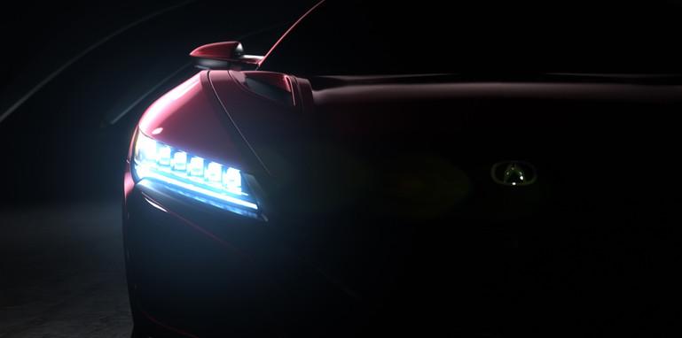 Acura NSX Production Model Teaser Image