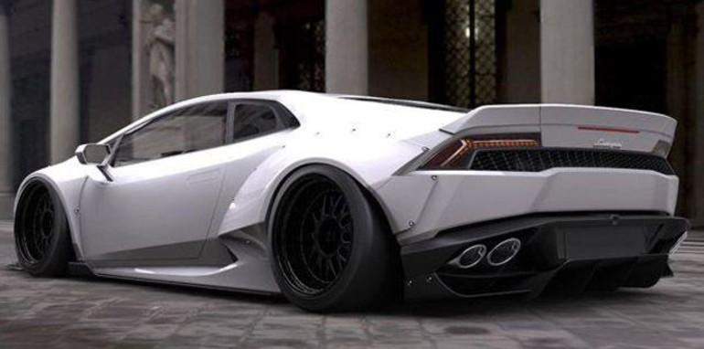 Lamborghini Las Vegas >> Lamborghini Huracan gets wider and wilder