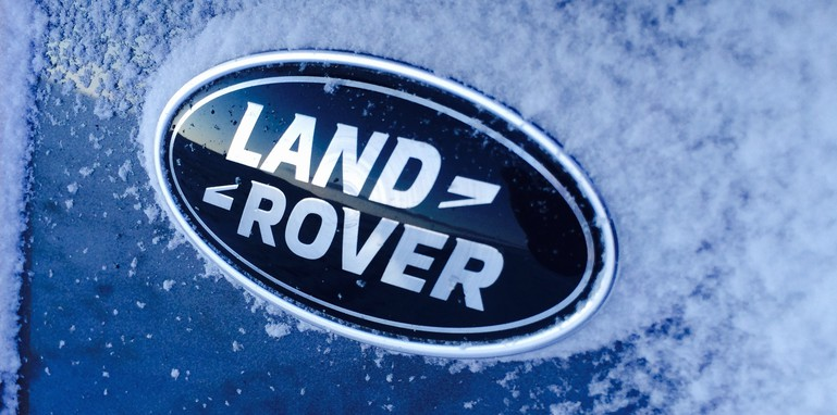 Land Rover Discovery Sport LR badge