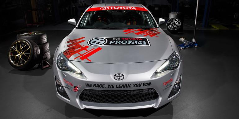 2015 Toyota 86 Pro-Am development car