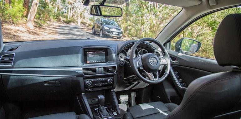 Subaru Forester Mazda CX-5 Volkswagen Tiguan Ford Kuga-1
