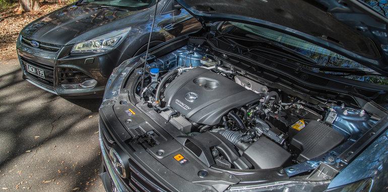 Subaru Forester Mazda CX-5 Volkswagen Tiguan Ford Kuga-11