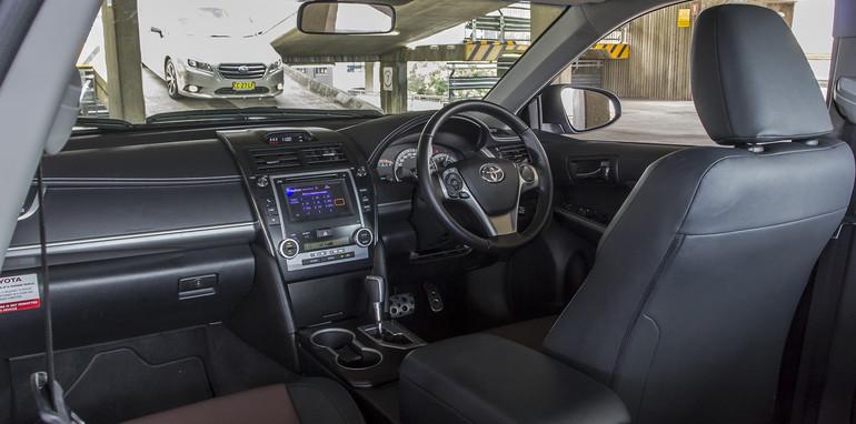 Toyota Camry Mazda 6 Subaru Liberty Hyundai Sonata-109