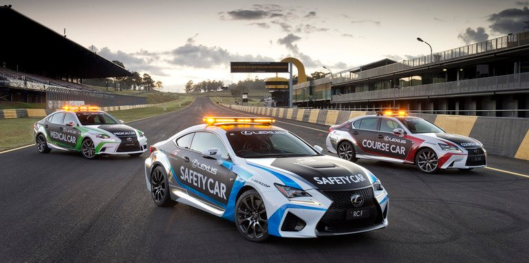 lexus-rc-f-v8-supercars-support-cars