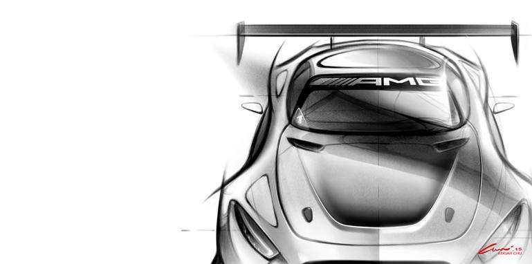 mercedes-amg-gt3-sketch-front