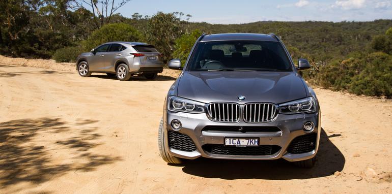 2015-BMWX3-LexusNX-smallSUVcomparo-sydney-18
