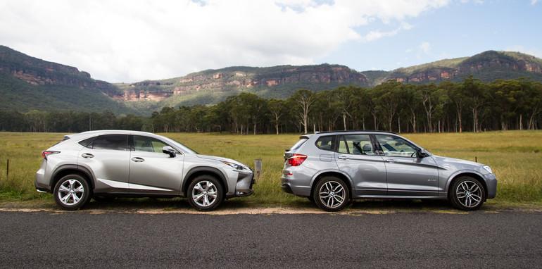 2015-BMWX3-LexusNX-smallSUVcomparo-sydney-71