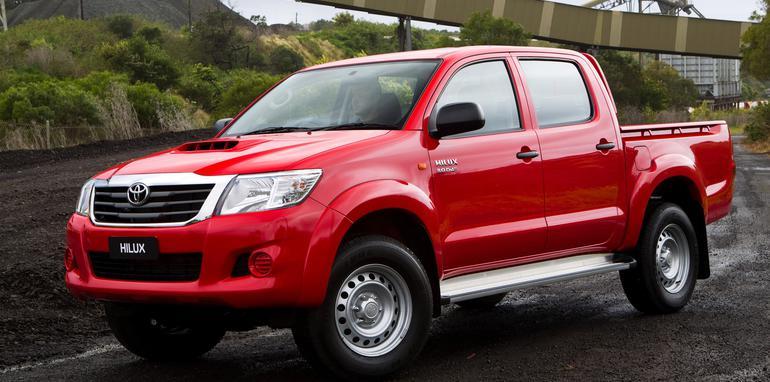 2011 Toyota HiLux SR Double Cab 4x4 Turbo Diesel