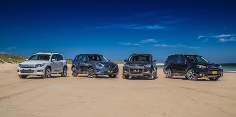 Subaru-Forester-Mazda-CX-5-Volkswagen-Tiguan-Ford-Kuga-31