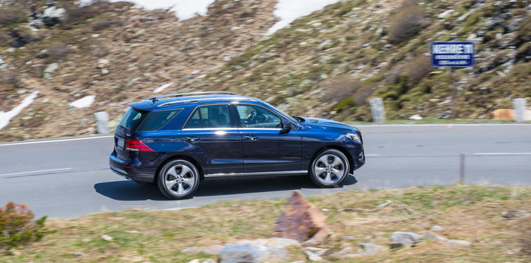 Mercedes-Benz Driving_Launch GLE_GLE_Coupe
