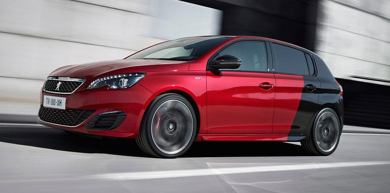 peugeot 308 gti revealed. Black Bedroom Furniture Sets. Home Design Ideas