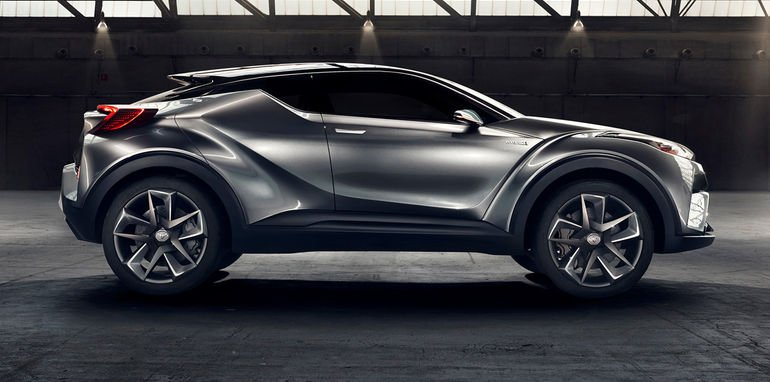 toyota c hr suv concept sequel revealed in frankfurt final version due for geneva show. Black Bedroom Furniture Sets. Home Design Ideas