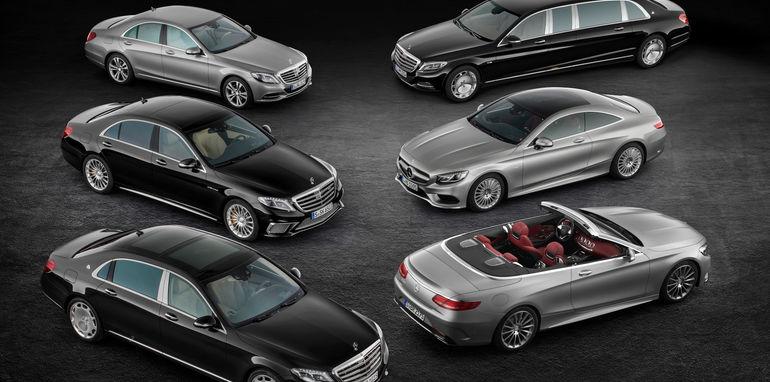 Mercedes-Benz S-Klasse Luxuswagenfamilie