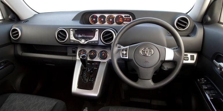 2010 Toyota Rukus Build 1 interior