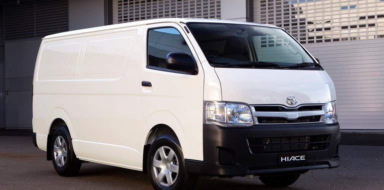 Toyota HiAce Ð AustraliaÕs best-selling van was updated in 2010