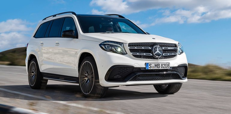2016 mercedes benz gls revealed big gl gets new name new for Mercedes benz 7 passenger