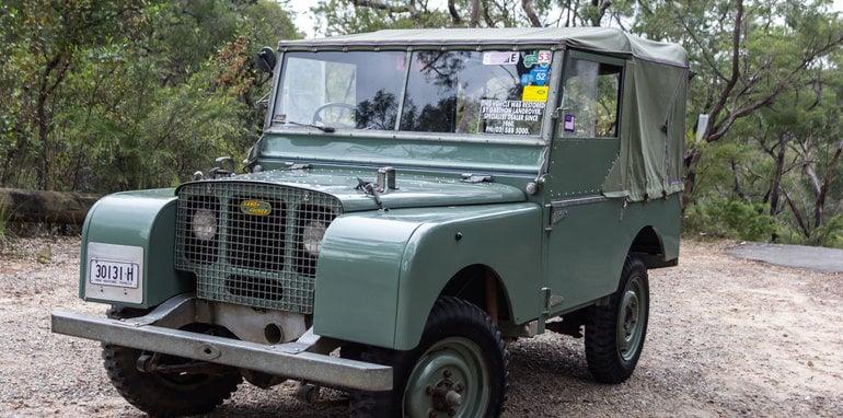 Land Rover Defender Old v New 90 Series-2