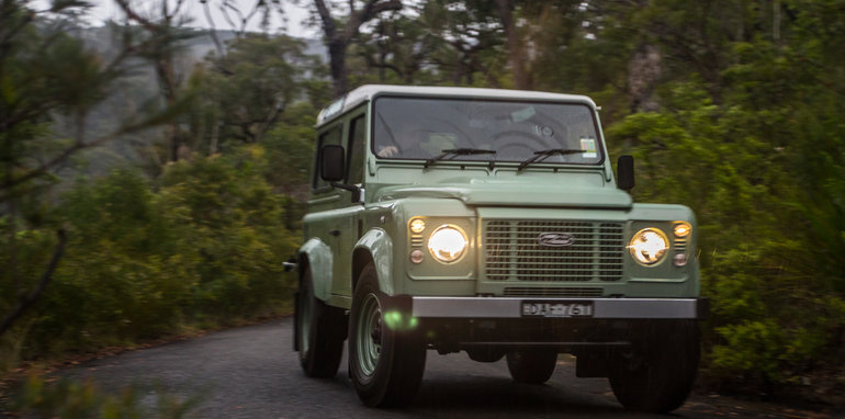 Land Rover Defender Old v New 90 Series-79