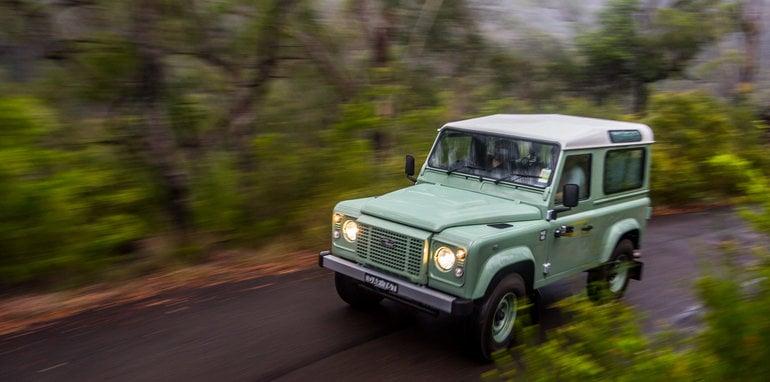 Land Rover Defender Old v New 90 Series-81