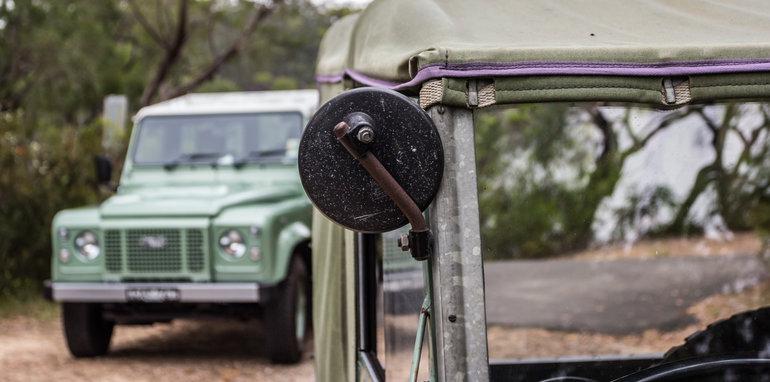Land Rover Defender Old v New 90 Series-9