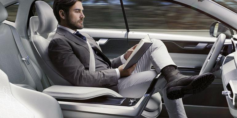 Volvo driverless autonomous technology