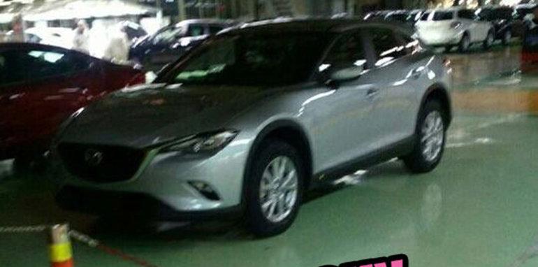 2017-Mazda-CX-4-CX-6-Spy-1