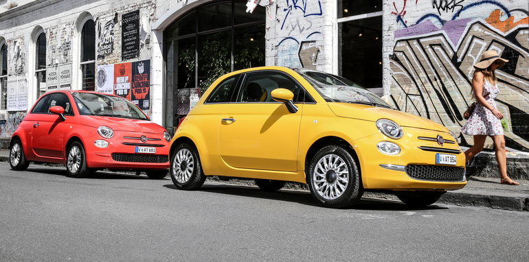 2016 Fiat 500 Pop and Lounge - 2