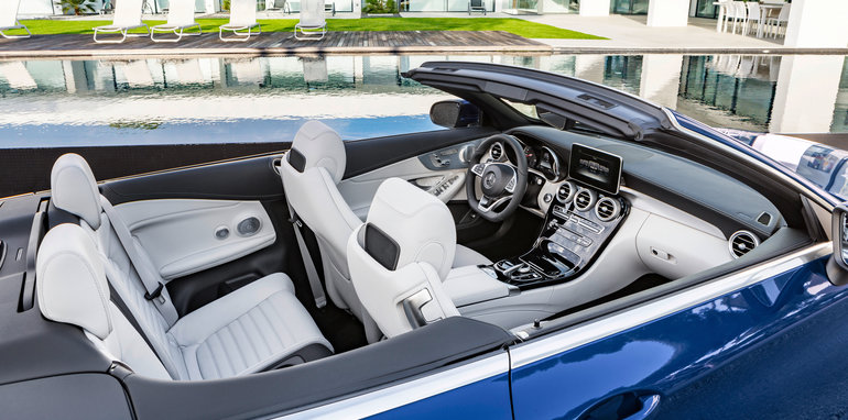 Mercedes-Benz C 400 4MATIC Cabriolet, A 205, 2016
