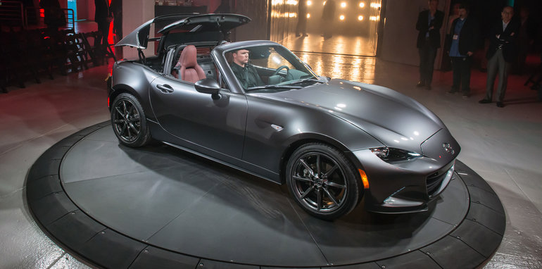 Mazda Mx 5 Rf Hardtop Revealed In New York