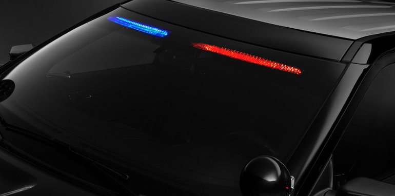 """Ford to Launch New Factory """"No Profile"""" Front Visor Light on Pol"""